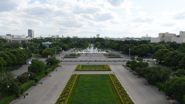 Парк культуры имени Горького в Москве. Архивное фото