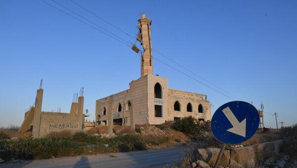 Ситуация в пригороде Дамаска. Архивное фото