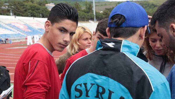 Сирийские дети из Дамаска на отдыхе в лагере Артек в Крыму