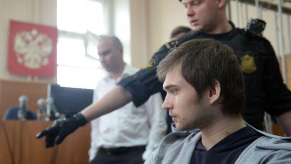 Заседание суда по делу блогера Руслана Соколовского. Архивное фото