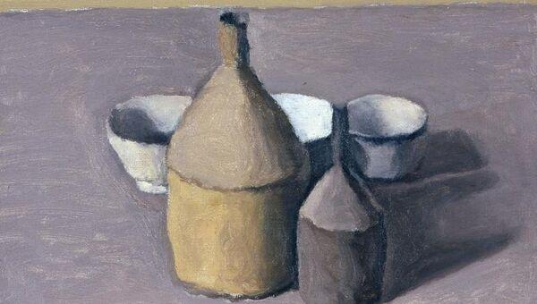 Джорджо Моранди. Натюрморт. 1958. Холст, масло. Частная коллекция, Турин