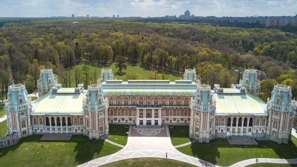 Большой Царицынский дворец Матвея Казакова в музее-заповеднике Царицыно