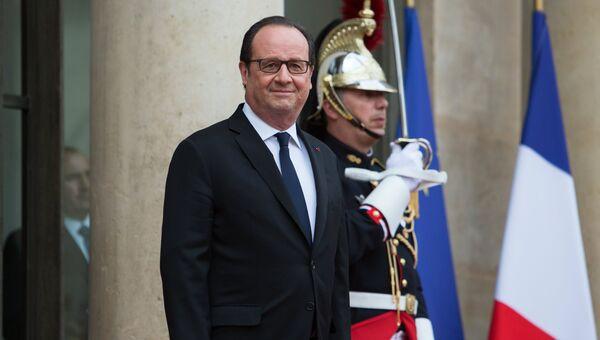 Франсуа Олланд. Архивное фото