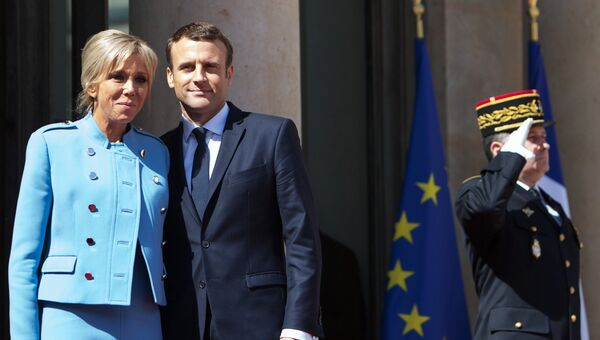 Инаугурация избранного президента Франции Э. Макрона