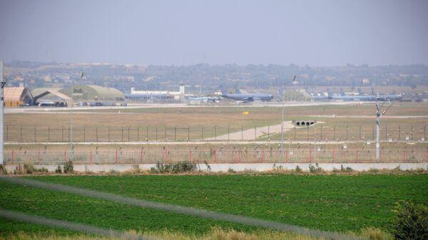 Авиабаза НАТО в Инджирлик. Архивное фото