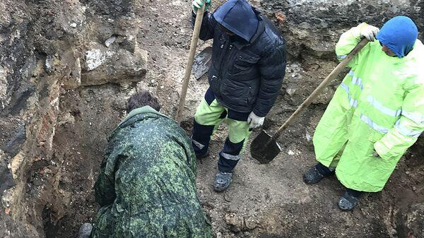 Столичные археологи обнаружили древний некрополь XVII века