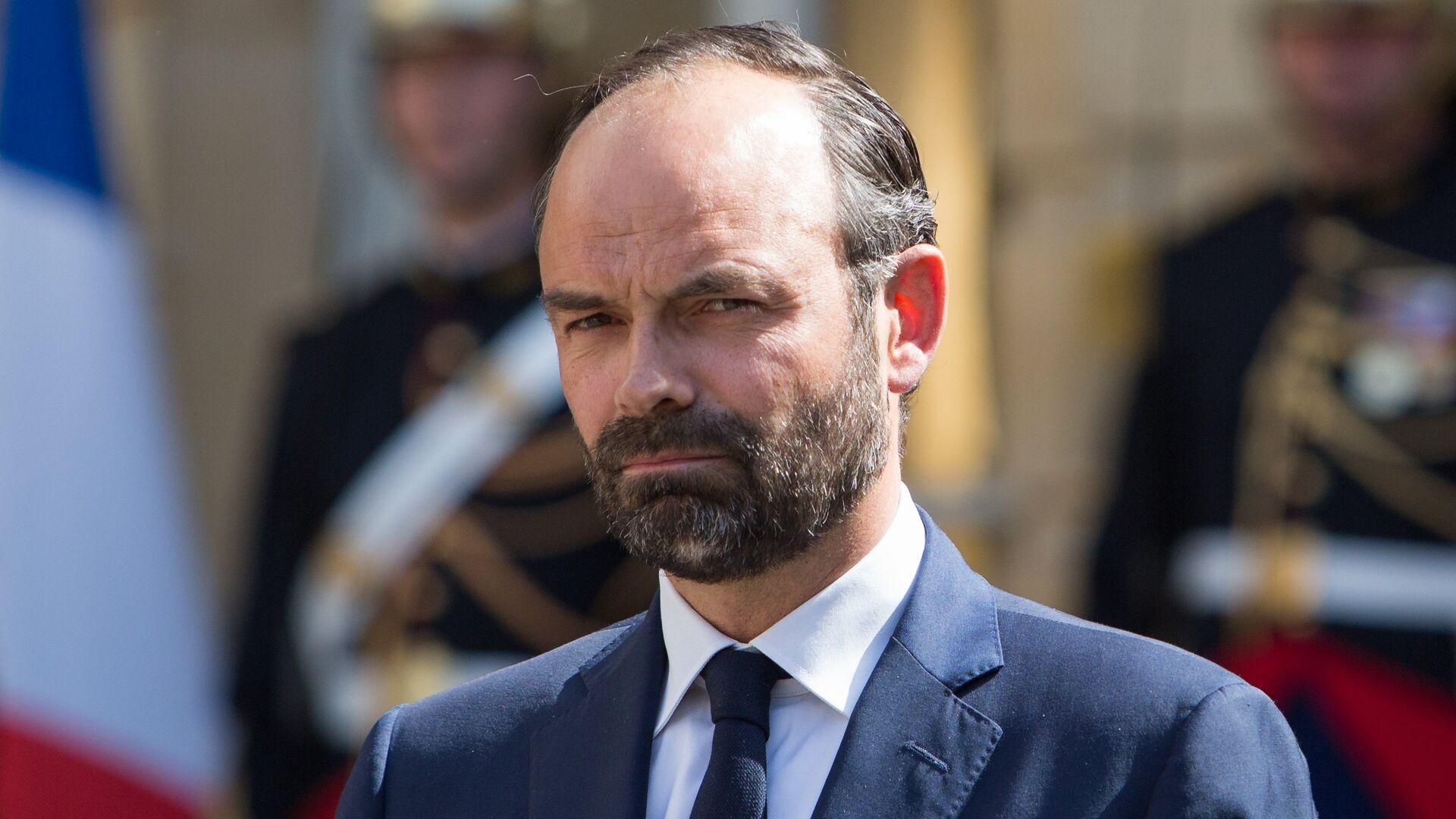 Премьер-министр Франции Эдуар Филипп - РИА Новости, 1920, 03.07.2020