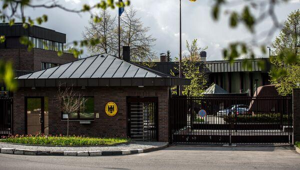 Посольство Германии в РФ в Москве. Архивное фото