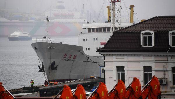 Северокорейское грузопассажирское судно Man Gyong Bong. Архивное фото