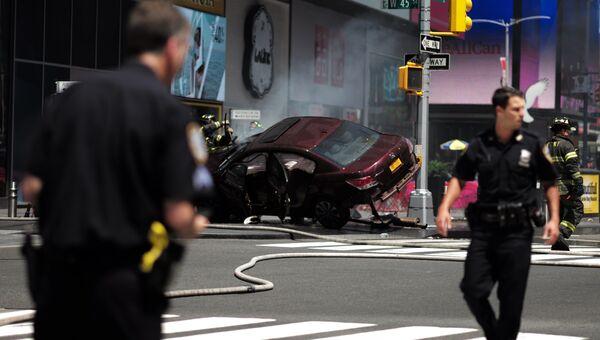 Полиция в Нью-Йорке. Архивное фото