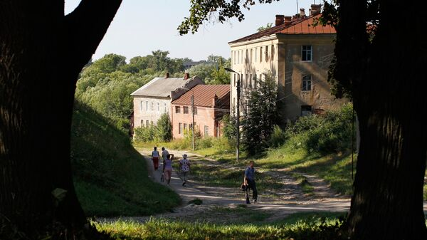 Старые дома в Ивановской области. Архивное фото