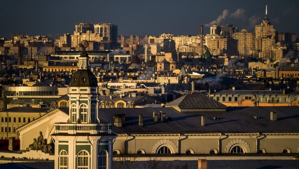 Города России. Санкт-Петербург. Архивное фото