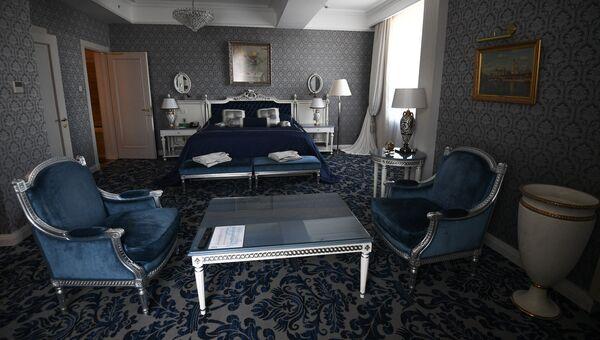 Интерьер Президентского номера гостиницы