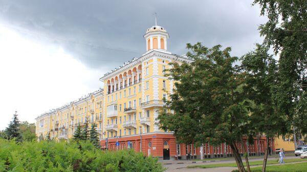Город Новокузнецк. Архивное фото