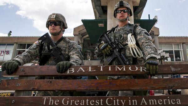 Солдаты Национальной гвардии США. Архивное фото