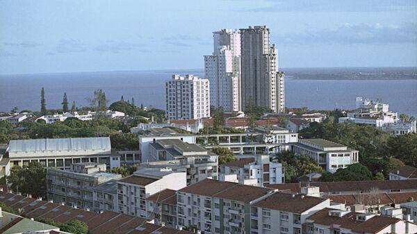 Вид на город Мапуту - столицу Народной Республики Мозамбик