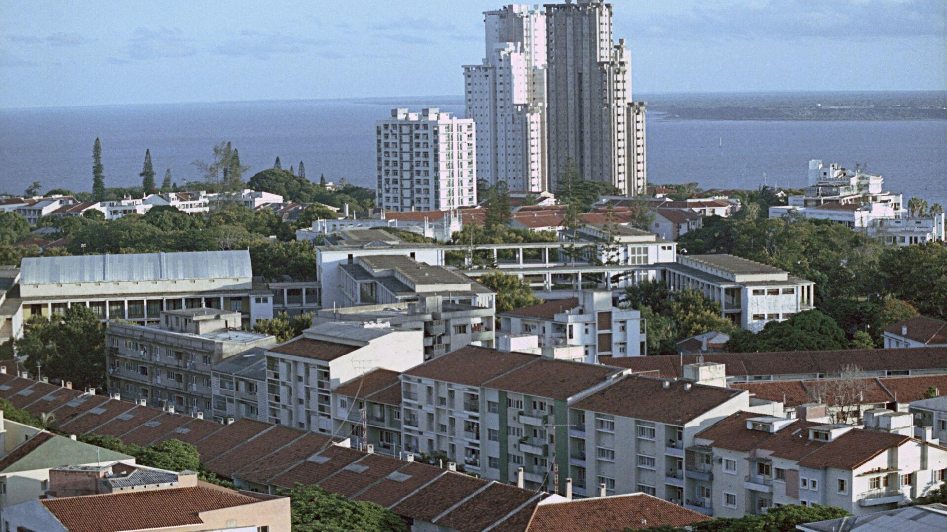 Вид на город Мапуту - столицу Народной Республики Мозамбик - РИА Новости, 1920, 29.03.2021