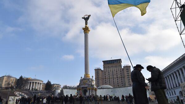 Майдане Незалежности в Киеве. Архивное фото