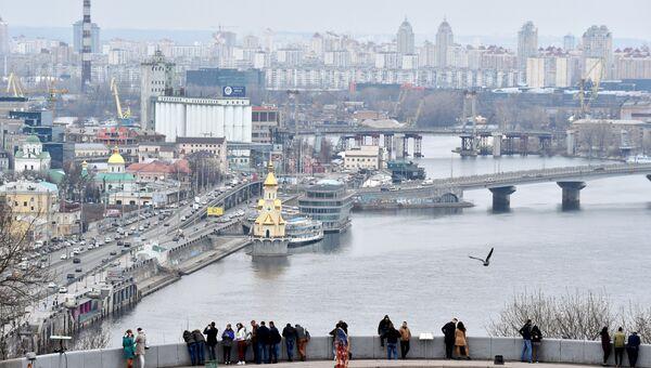 Вид на Киев. Архивное фото