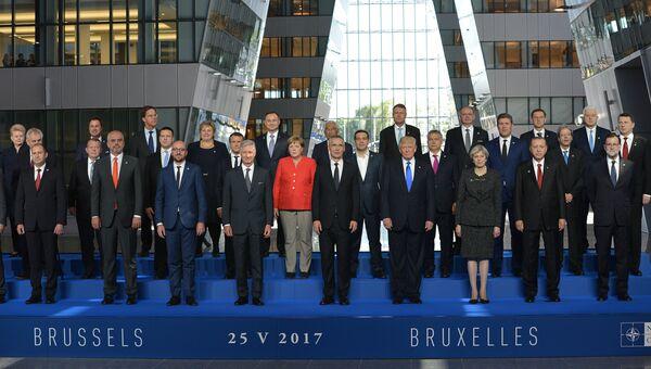 Саммит НАТО в Брюсселе. 25 мая 2017