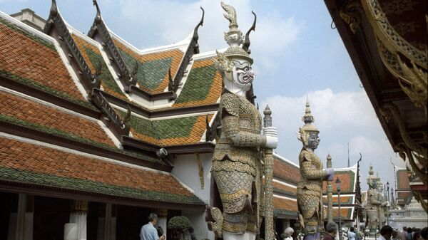 Город Бангкок. Архивное фоо