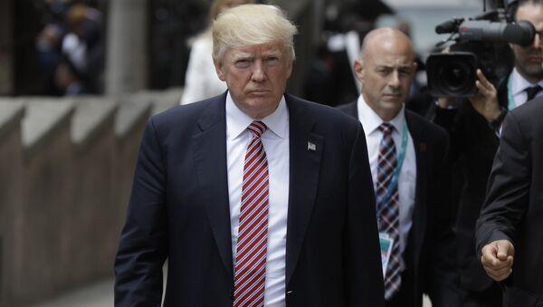 Президент США Дональд Трамп на саммите G7 в Италии. 26 мая 2017