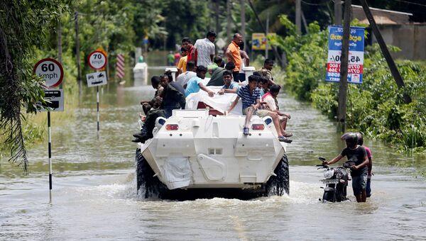 Наводнение в Шри-Ланке, 27 мая 2017