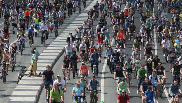 Всероссийский Велопарад-2016. Архивное фото