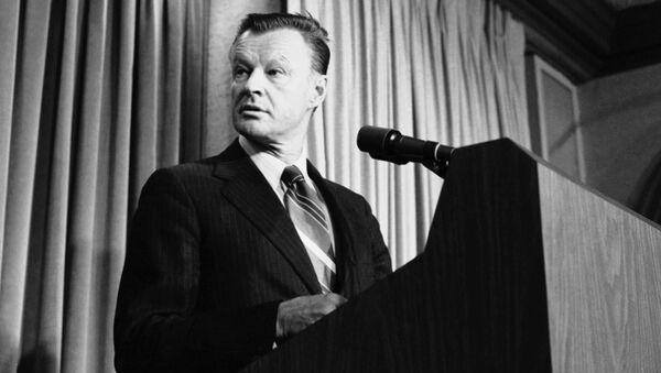 Американский политолог Збигнев Бжезинский. 11 мая 1979 года