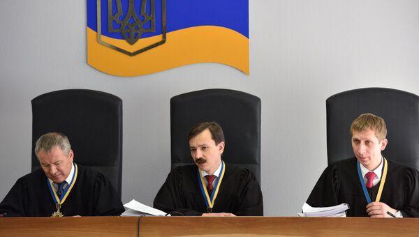 Заседание суда в Киеве по делу Виктора Януковича. Архивное фото