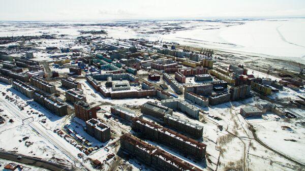 Город-порт Дудинка. Архивное фото