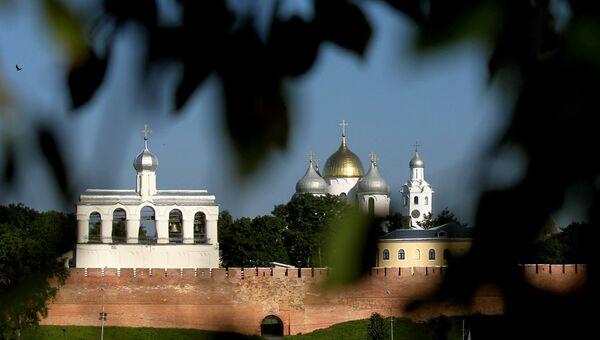Софийский собор в Великом Новгороде. Архивное фото