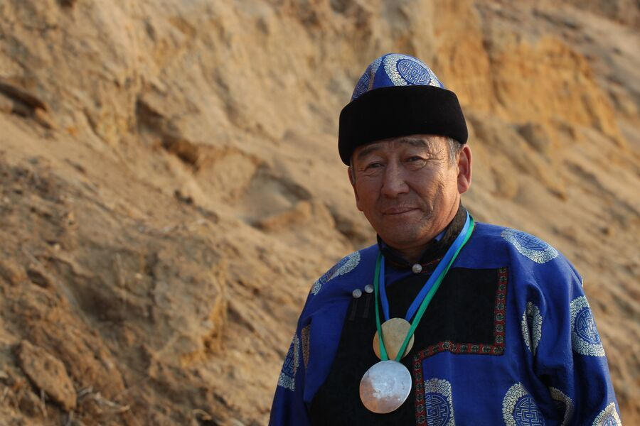 Геннадий Тугулов, шаман острова Ольхон
