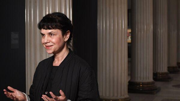 Директор Государственного музея изобразительных искусств имени А.С. Пушкина Марина Лошак