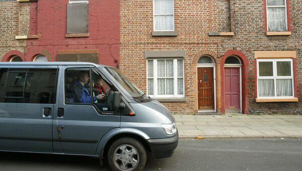 Дом на Фолкнер-Стрит в Ливерпуле, где жил Джон Леннон. Архивное фото