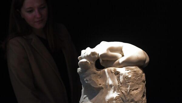 Скульптура Андромеда работы Огюста Родена на аукционе Artcurial. Архивное фото