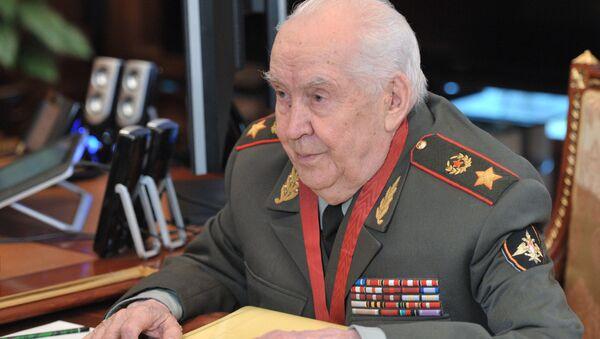 Президент Академии военных наук РФ, генерал армии Махмут Гареев. Архивное фото
