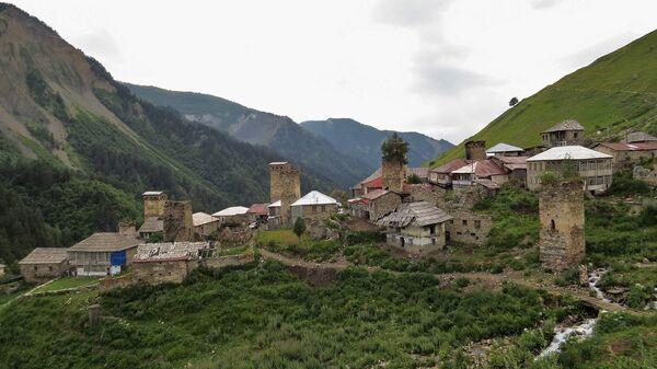 Деревня в Сванети