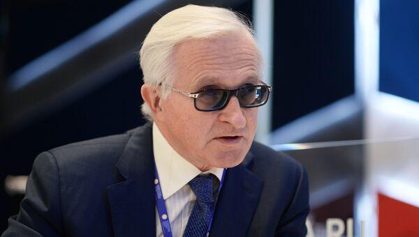 Президент Российского союза промышленников и предпринимателей Александр Шохин на Санкт-Петербургском международном экономическом форуме 2017