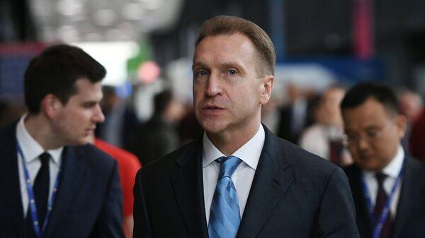 Заместитель председателя правительства РФ Игорь Шувалов