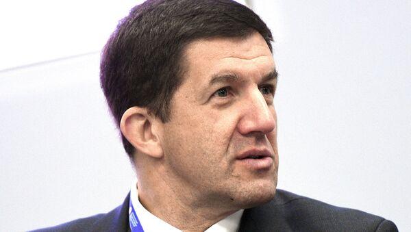 Президент ПАО Ростелеком Михаил Осеевский на Санкт-Петербургском международном экономическом форуме 2017