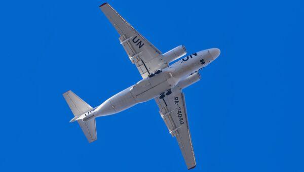 Самолет ООН. Архивное фото