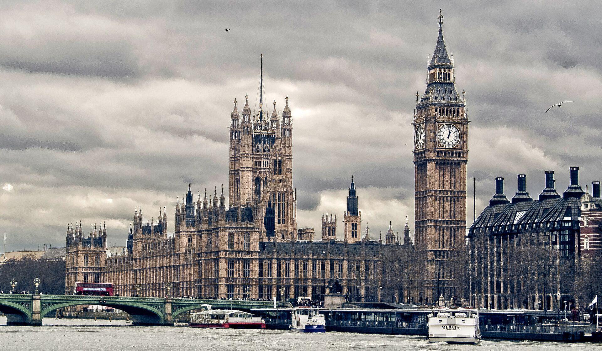 Здание парламента Великобритании в Лондоне - РИА Новости, 1920, 19.01.2021
