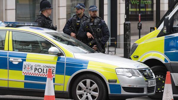 Полицейский кордон в Лондоне. Архивное фото