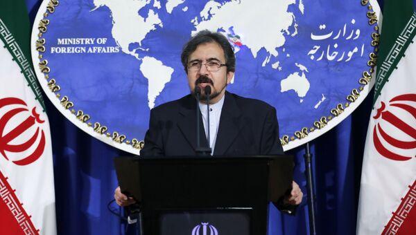 Официальный представитель МИД Ирана Бахрам Гасеми. Архивное фото