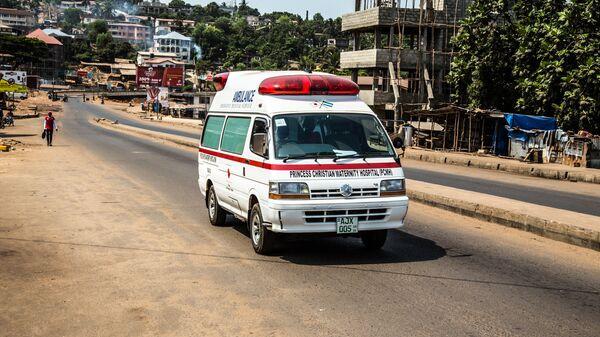 Автомобиль скорой помощи в Сьерра-Леоне