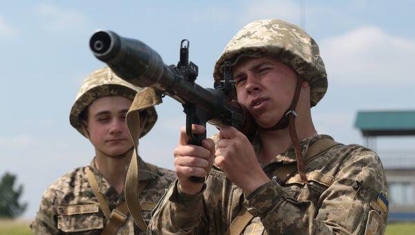 Военнослужащие вооруженных сил Украины