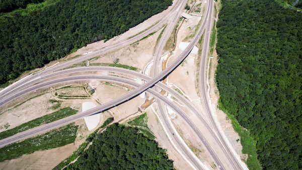 Джубгская развязка на федеральной автомобильной дороге М-4 Дон в Краснодарском крае