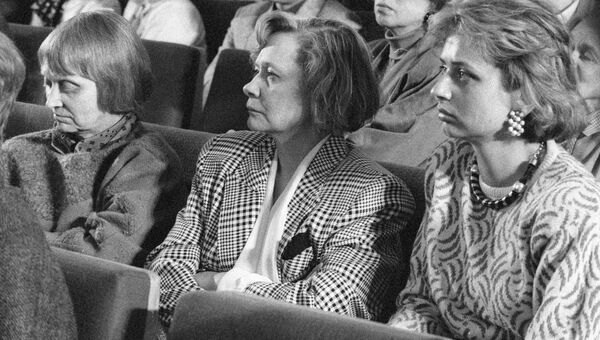 Дочери и правнучка Никиты Хрущева
