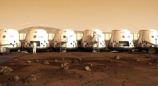 Частный проект Mars One, руководимый Басом Лансдорпом